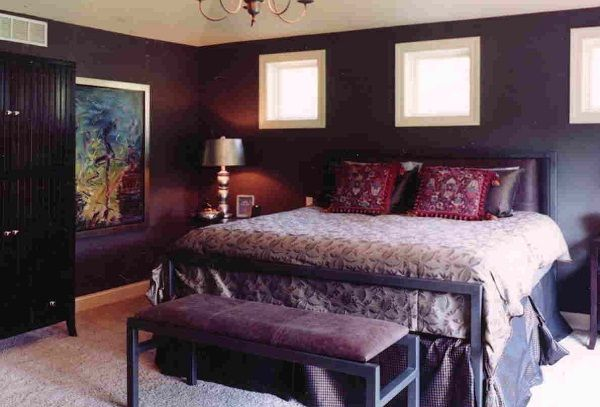 Bedroom ideas for women to get a stylish room home for Romantic purple bedroom