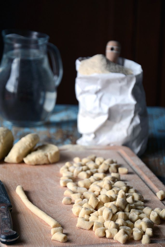 Gnocchetti di semola e acqua - Laura Gioia
