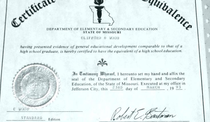 ged certificate template example smithchavezlaw templates