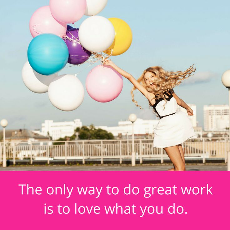 The only way to do great work is to love what you do. #inspomonday #australia #girlboss #bizowner #blogger