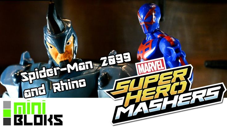 In this video I'm Showcasing Hasbro's Marvel Superhero Mashers - Spider-man 2099 and Rhino Battlepack!  As a Spider-man fanatic and big fan of Spider-man 2099 it was a must buy situation, and this set deserves some showing off videos!  I've got quite an extensive Marvel Mashers collection growing, and obviously it's mostly adorned with Spider-Men? Spider-Mans? Spider... forget it.   Make sure to check out my Channel over on Youtube!  M.B