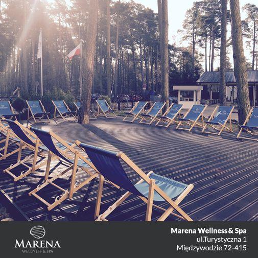 Wiosenne leżakowanie w Marenie uważamy za rozpoczęte :)   #Marena #leżakowanie #wiosna #nadmorzem