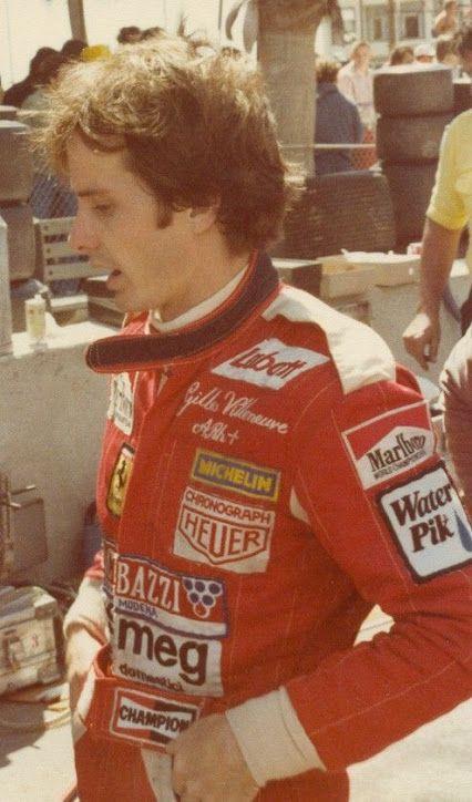 Gilles Villeneuve, Long Beach. 1978