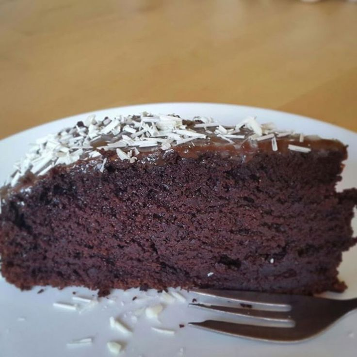 Moist chocolate cake. #deathbychocolate #chocolatecake