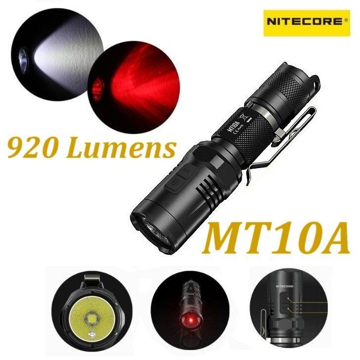 Nitecore MT10A Lampada Led 920 Lumens