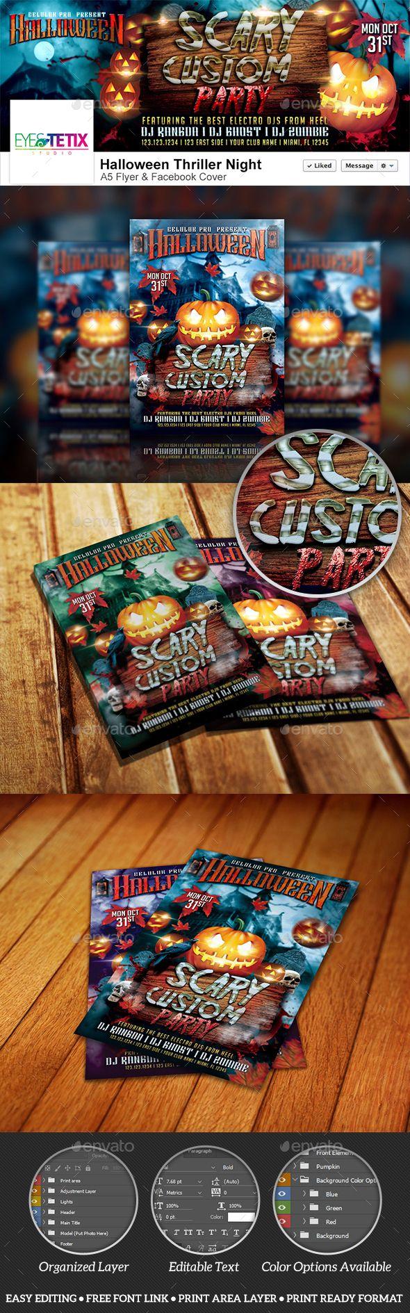630 best Halloween Flyer Templates images on Pinterest | Flyer ...