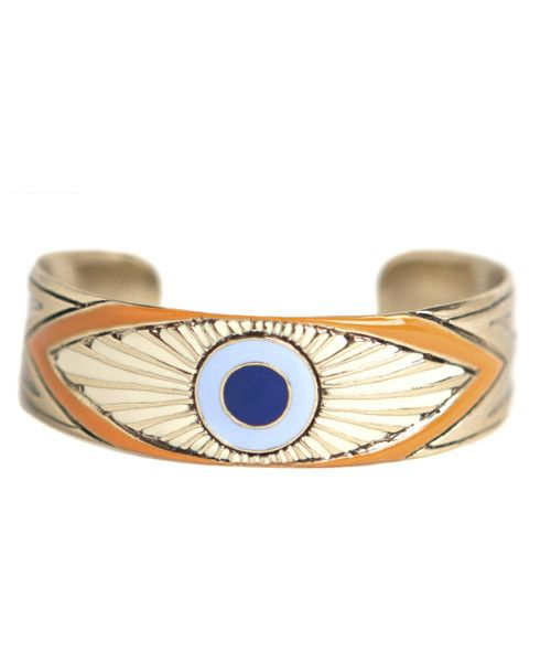 Evil Eye Cuff -- @dreamcollective