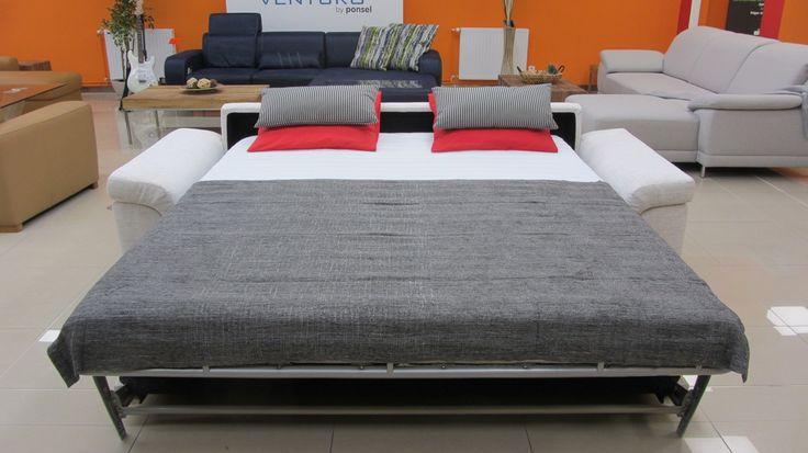Steel XXL - rozkladacia sedacia súprava na každodenné spanie
