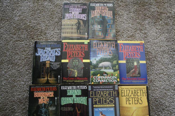Lot of 10 Elizabeth Peters novels by TheKindLady on Etsy
