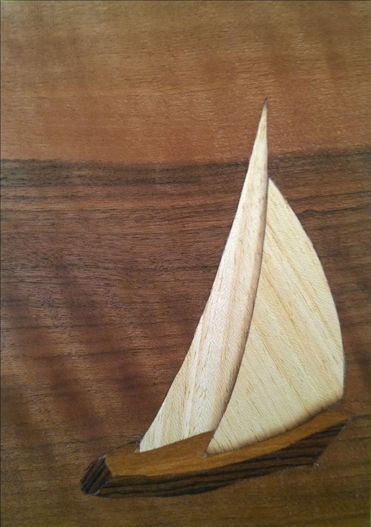 Intarsia puusta