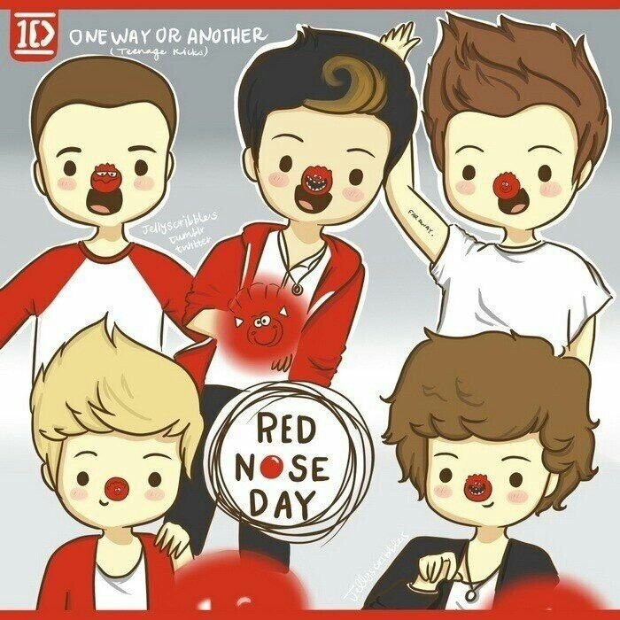 One ditection- One Way or Another Red Nose Day ;))