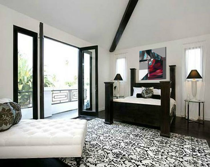Black And White Bedroom Designs And Room Interiors Beautiful Black White Interior  : Photos, Designs, Pictures