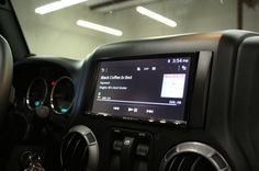 Best way to upgrade the stereo in a Jeep Wrangler. Car Stereo Chick goes over various Jeep Wrangler stereo upgrades, including her own Jeep stereo upgrade.