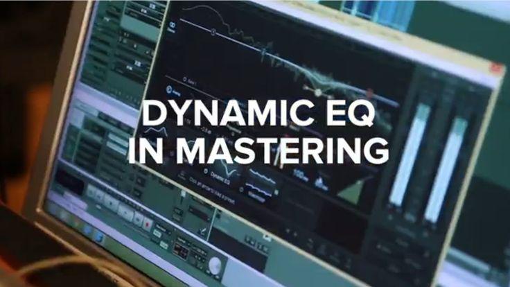 Dynamic EQ in Audio Mastering