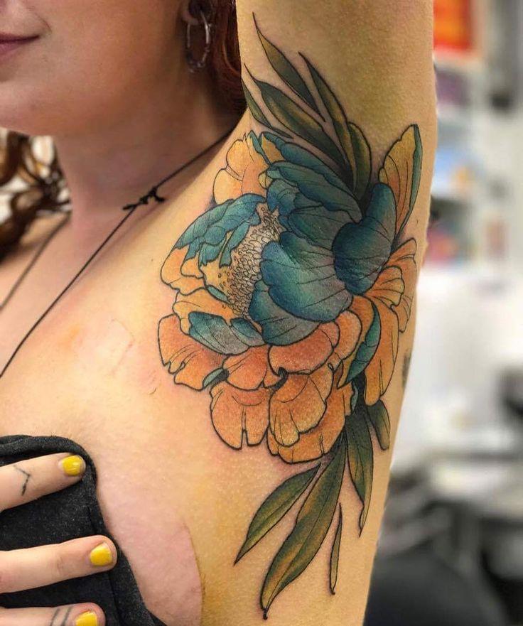 25+ Unique Armpit Tattoo Ideas On Pinterest
