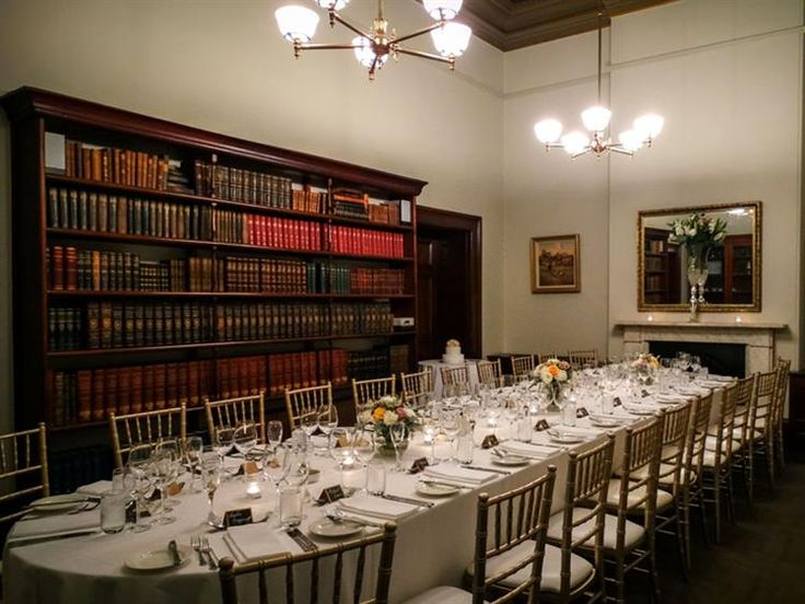 @AyersHouse [ADELAIDE] The Library - From boardroom meetings, private seminars and opulent diners this room is set amongst the original bookshelves, fire place and large sash windows.