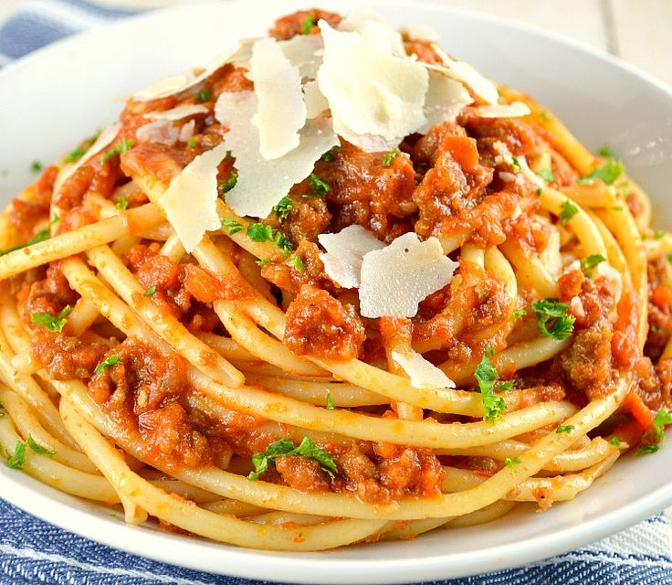 Bolognese Sauce-Marcella Hazan. I LOVED this recipe. Huge hit with everyone.