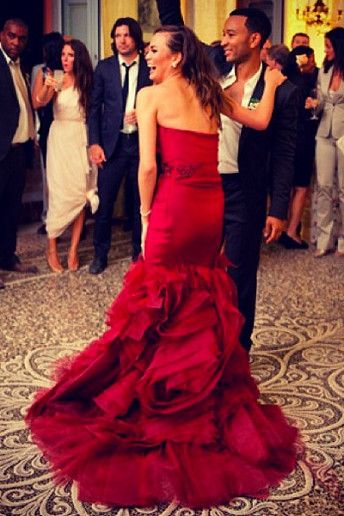 19 celebrity wedding dresses : Best images about by color red on glass