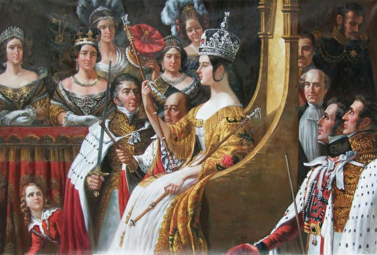 Hayter and coronation of queen victoria 1838 | coronation of queen victoria 28 june 1838 sir george hayter our price ...