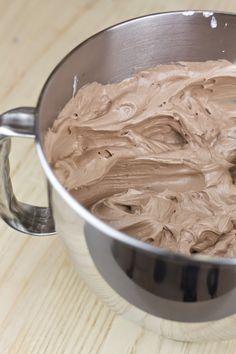 Merengue suizo de Nutella
