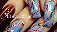 Robin Moses Nail Art - YouTube