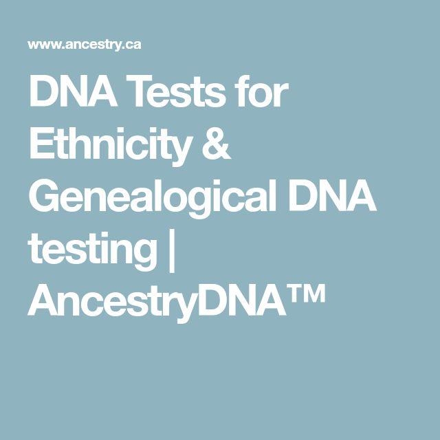 DNA Tests for Ethnicity & Genealogical DNA testing | AncestryDNA™