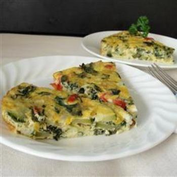 Eggy Veggie Bake: Breakfast Brunches, Baking Food And Drinks, Eggs Baking, Baking Veggies, Veggies Frittata, Veggies Baking, Baking Breakfast, Baking Allrecipescom, Eggy Veggies