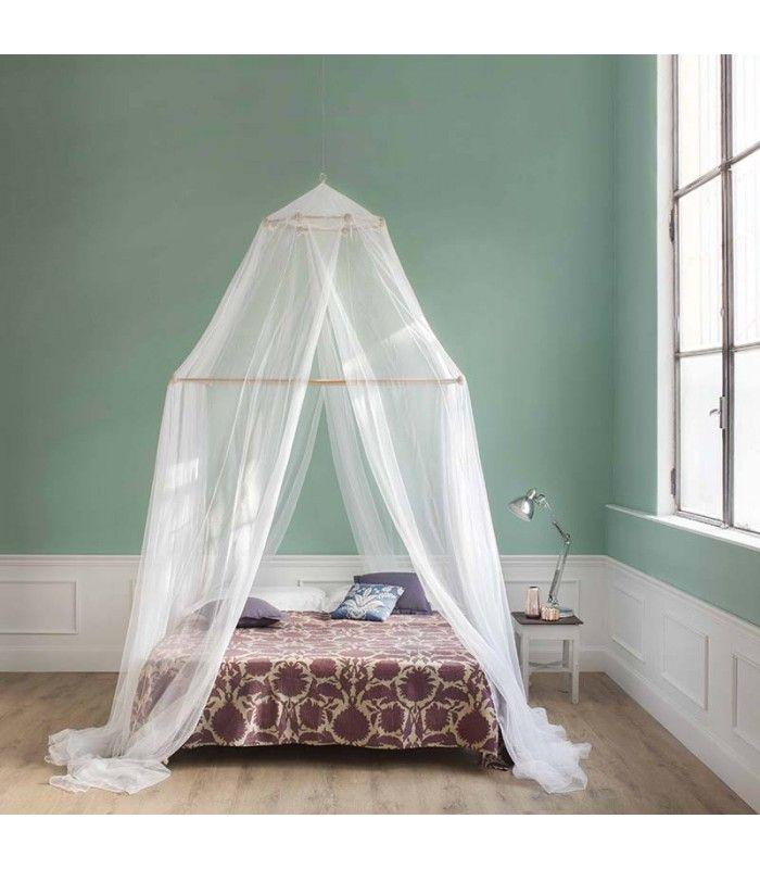 L'incanto di un letto a baldacchino, la freschezza di un velo immacolato. Tina - zanzariera a doppio telaio - 4 aperture - Grigolite
