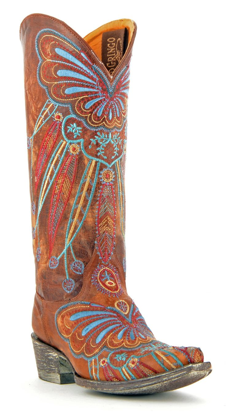Old Gringo Brass Lakota Boots www.maverickstyle.net
