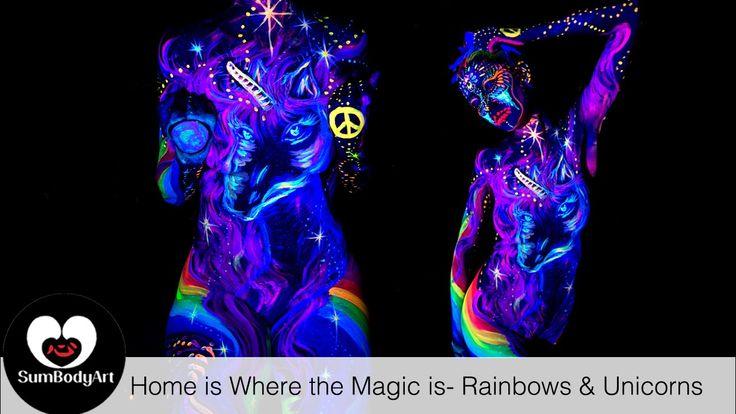 SumBodyArt's Home is Where the Magic is- Rainbows & Unicorns