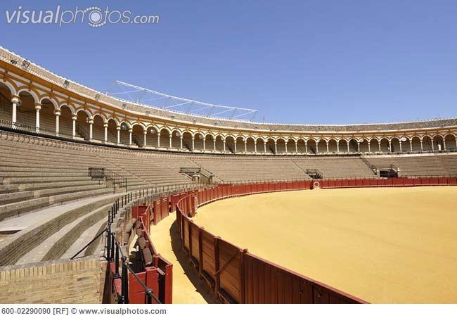 seville spain bullfight ring