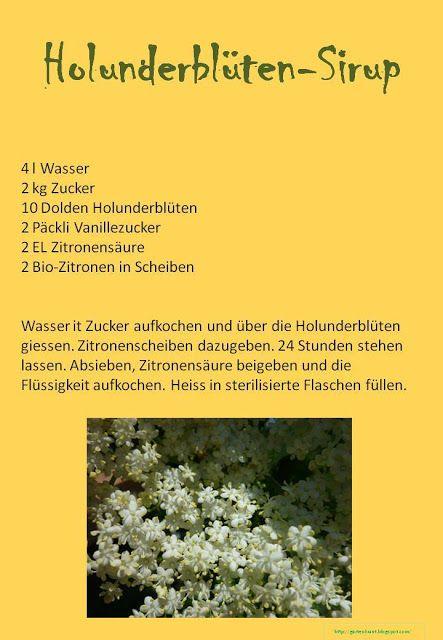 Gartenkraut: Sirupt
