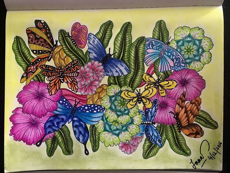 35 Best Adult Colouring