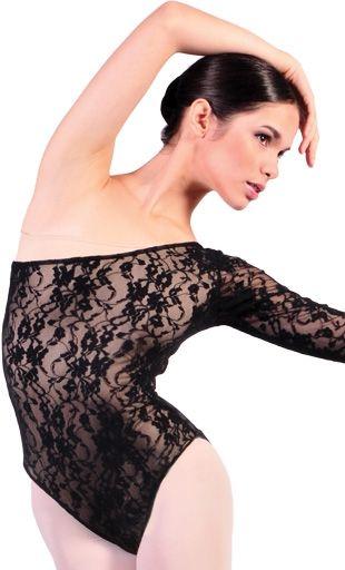 Body Danza Classica con Pizzo - Vendita body danza online a prezzi Imbattibili