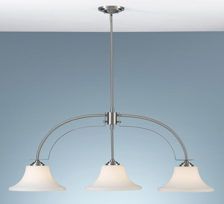 From delmarfans com · murray feiss f2248 3bs barrington 3lt brushed steel pendant lighting
