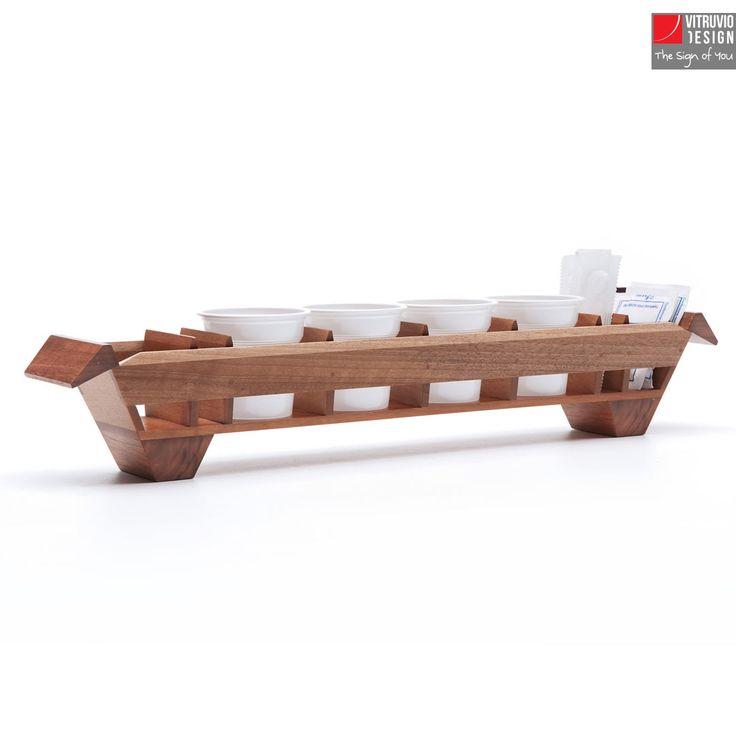Vassoio da caffè di design | Made in italy | Vitruvio Design