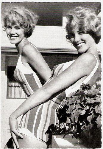 Alice & Ellen Kessler, 1950s. The German twin sisters Alice and Ellen Kessler  were born in Nerchau, Germany in 1936. They are usually credited as the Kessler Twins (Die Kessler-Zwillinge in Germany and Le Gemelle Kessler in Italy).