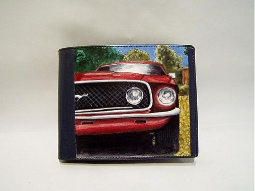 ArtToWear / Pánska peňaženka - Ford Mustang