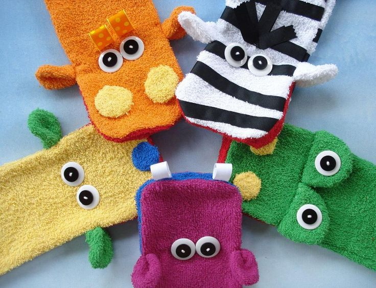 Looking for your next project? You're going to love Wash Cloth Hand Puppets by designer Precious Patts.