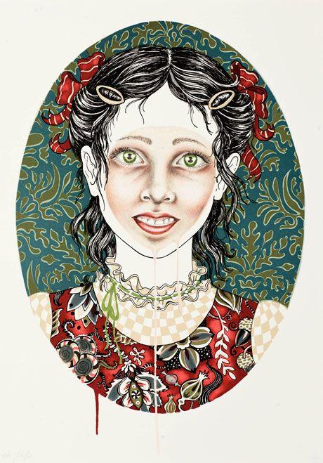 Julie Nord, Litografier, drawings, art