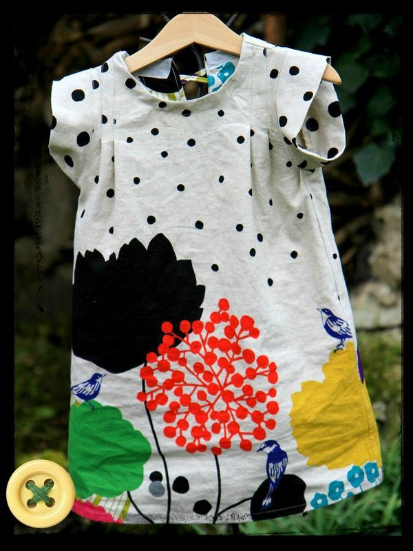 "echino robe crise livre ""esprit kimono pour les petits"""