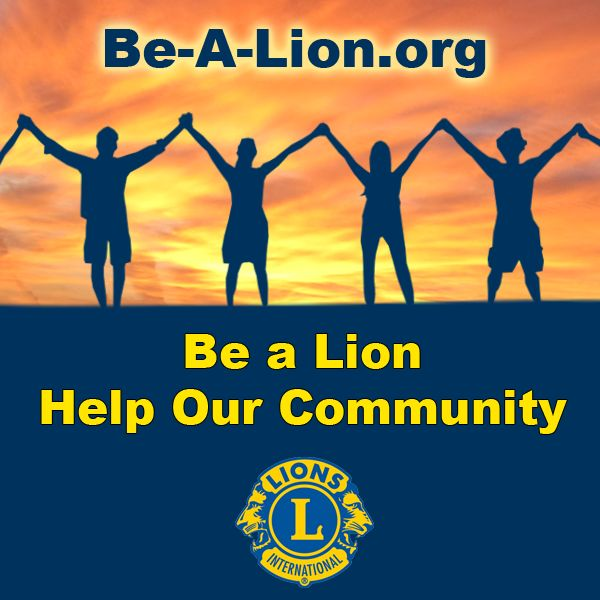 Be a Lion, Help Our Community