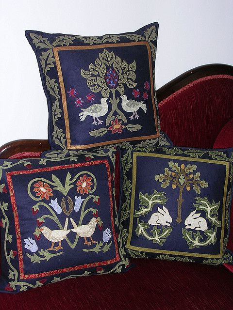 William Morris cushions