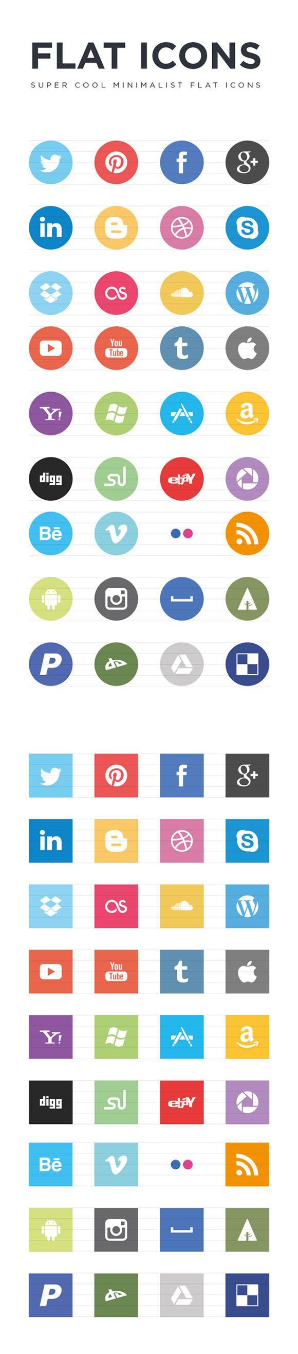 72 Icônes «Flat Design» au format .eps   http://blog.shanegraphique.com/72-flat-icons-au-format-eps/