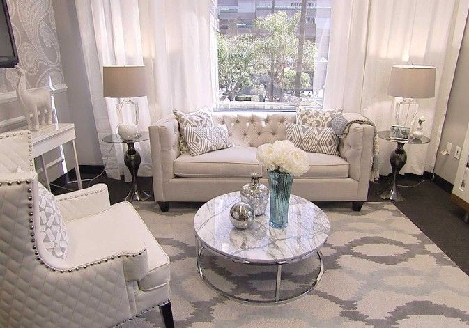 Giuliana Rancic's new E! office, by designer Lonni Paul
