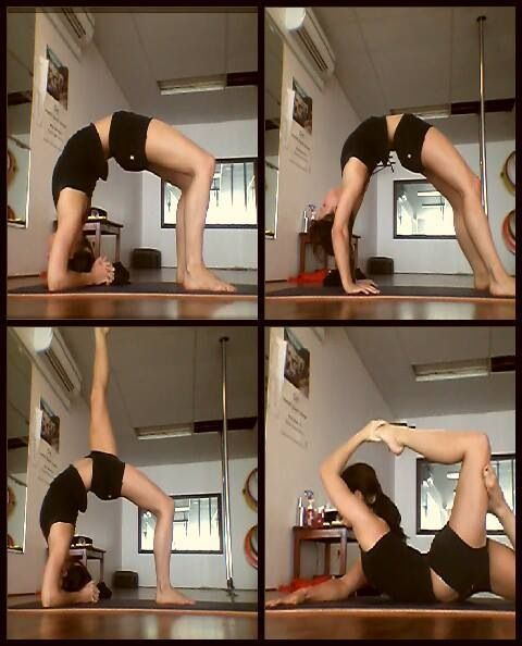 Back flexibility stretches I could do all these before baby...hoping to get right back at it!