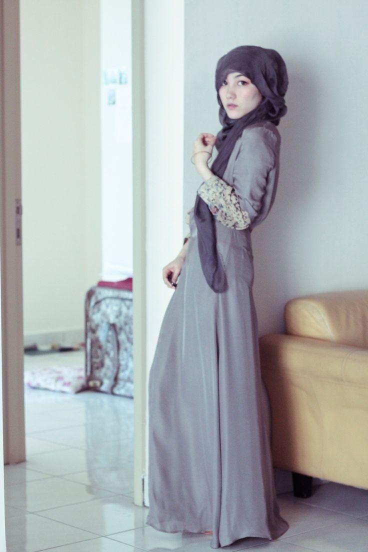 jumpsuit maxi dress by Hana Tajima