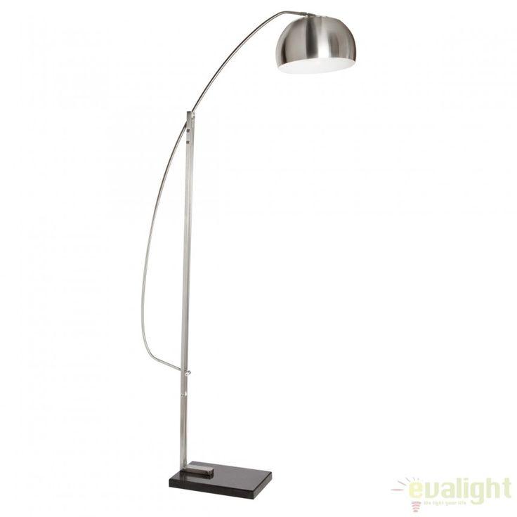 Lampadar / Lampa de podea cu brat reglabil in inaltime RETRACTIL 121591 SU  - Corpuri de iluminat, lustre, aplice