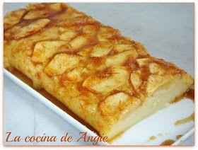 Quesada de manzana (sin queso) facil facilisima