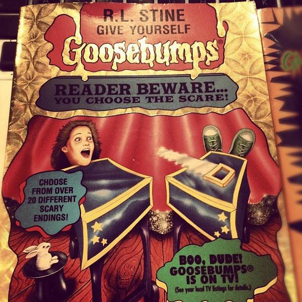 54 best goosebumps give you self images on pinterest childhood do you remember goosebumps books goosebumps doyouremember nostalgia childhood fandeluxe Gallery